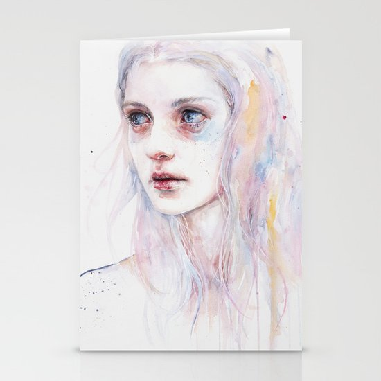 unsaid things Stationery Card