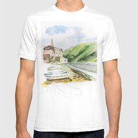 Kotor Mens Fitted Tee White SMALL