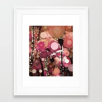 ::  Poppy-Dew :: Framed Art Print