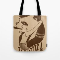 Panda Palooka Pitchin Woo Tote Bag