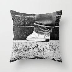 Kicks Throw Pillow
