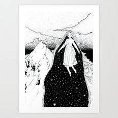 Mountain High Art Print