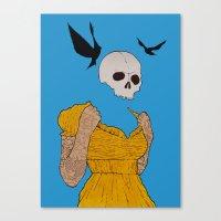 evil dead. Canvas Print