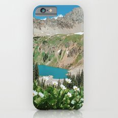 The Blue Lakes of Colorado iPhone 6 Slim Case