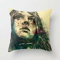About Tommorow Throw Pillow