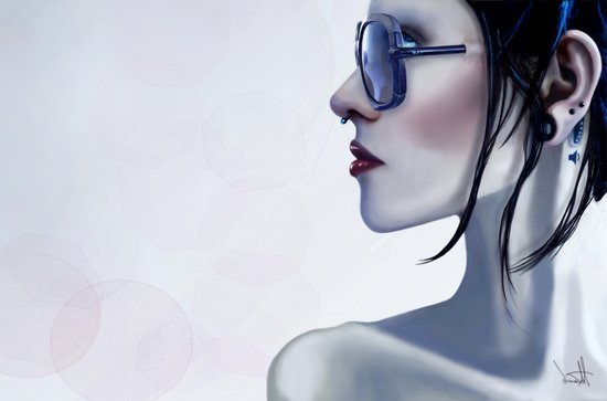 Eyewear Fashion Victim Art Print