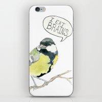 I Eat Brains iPhone & iPod Skin