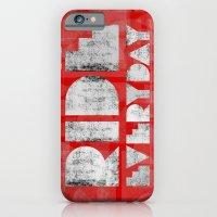 Ride Everyday  iPhone 6 Slim Case