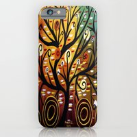 Abstract Tree-9 iPhone 6 Slim Case