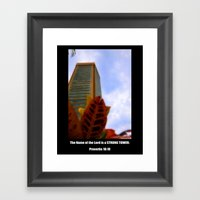 Strong Tower Poster Framed Art Print