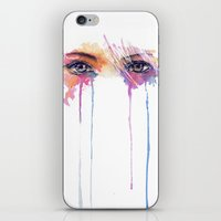 Rainbow Tears iPhone & iPod Skin