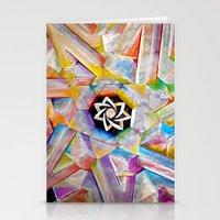 Escher Star Stationery Cards