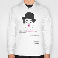 A DAY WITHOUT MOUSTACHES Hoody