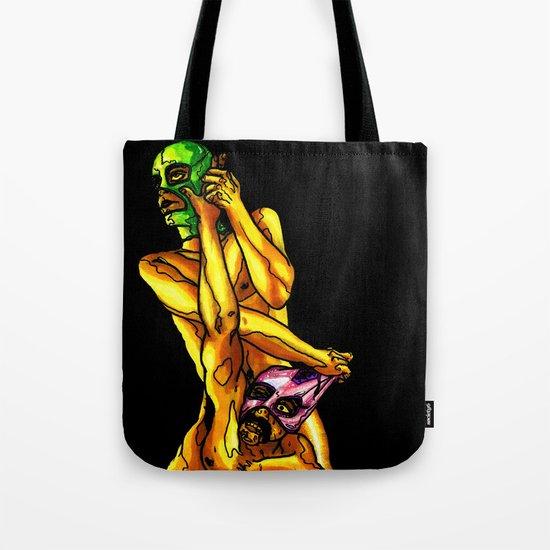 """Raw Power"" by Cap Blackard Tote Bag"