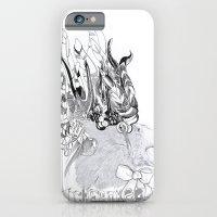 iPhone & iPod Case featuring Cherokee Bear by Raül Vázquez