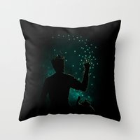 The Guardian Tree Throw Pillow