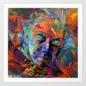 Luminescent Art Print