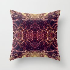 Burning Roots VIII Throw Pillow