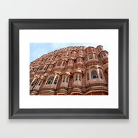 Balconies      (color) Framed Art Print