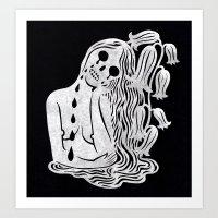 Dolor Art Print