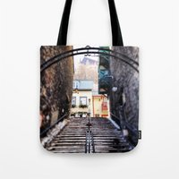 Old Quebec City Tote Bag