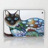 Siamese Cat Laptop & iPad Skin