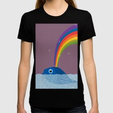Whale Womens Fitted Tee Black SMALL