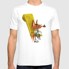 Fox Boss Mens Fitted Tee White SMALL
