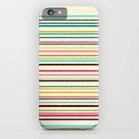 Pop Stripe iPhone 6 Slim Case