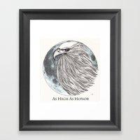House Arryn Framed Art Print