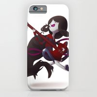 iPhone & iPod Case featuring The Vamp Queen by Mikuloctopus