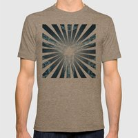 NUMINICAL II Mens Fitted Tee Tri-Coffee SMALL