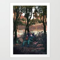 Metal Gear Solid - The E… Art Print