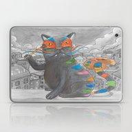 Artist Cat Laptop & iPad Skin