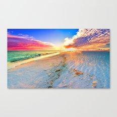 Beach Themed Wall Art Pr… Canvas Print