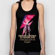 Space Oddity Unisex Tank Top