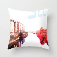 Waterfront Throw Pillow