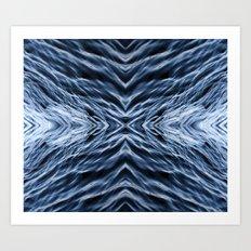 Rippling Art Print