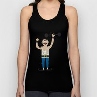 The Strongman From The C… Unisex Tank Top