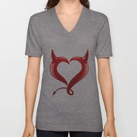 heartless Unisex V-Neck