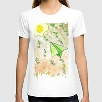 The Life Circulation of the Egg Womens Fitted Tee White SMALL