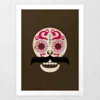 Calaca (1) Art Print