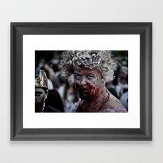 Zom Queen Framed Art Print