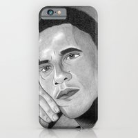 obama iPhone & iPod Cases featuring Obama  by Lupo Solitario