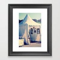 Tents Framed Art Print