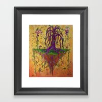 The Fling Island Framed Art Print