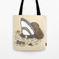 The Mullet Shark Tote Bag