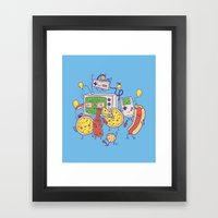 Woohoo! Framed Art Print