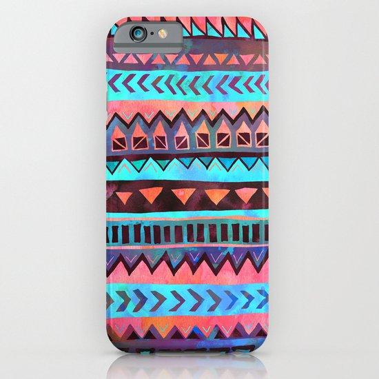 PATTERN {Tribal Stripe- Aqua} iPhone & iPod Case