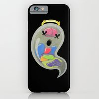 "iPhone & iPod Case featuring ""Mr. Ghostee(the living ghost)"" by XRAY"
